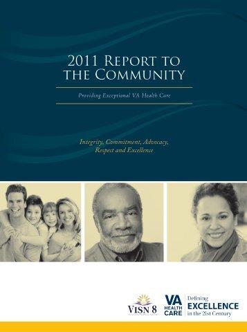 2011 Report to the Community - VISN 8