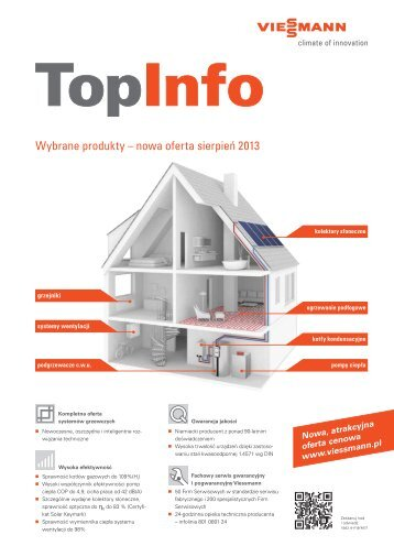 Prospekt. Wybrane produkty z oferty 2013. Format PDF - Viessmann