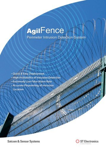 AgilFence - Singapore Technologies Engineering