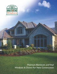 Huttig Windows - W & W Lumber