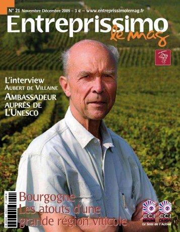 Bourgogne : Les atouts d'une grande région viticole - CCI Côte-d'Or