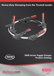 5000 Series Toggle Clamps Product Catalog - De-Sta-Co