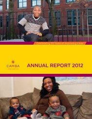 CAMBA Annual Report 2012