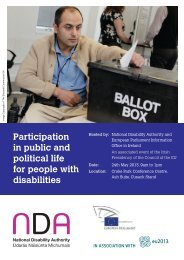 Conference Brochure - The National Disability Authority