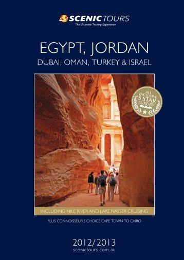 egypt, jordan dubai, oman, turkey & israel - Scenic Tours