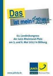 Antragsbuch63 - Junge Liberale Rheinland-Pfalz