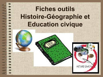Fiches outils Histoire-Géographie et Education civique