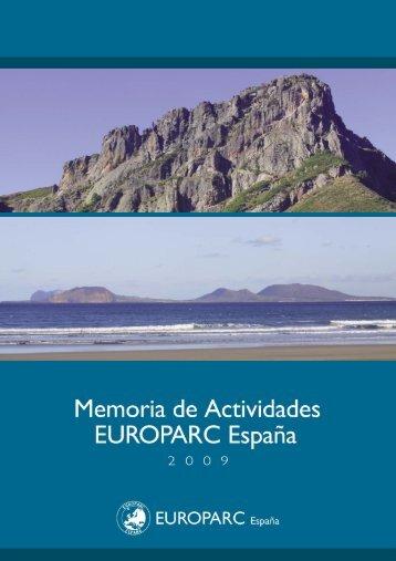 Memoria 2009 - EUROPARC-España