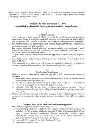 Obec Rabča v zmysle § 6 ods - Obec Lehota