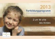Fortbildungsprogramm - Landeshauptstadt Wiesbaden