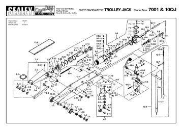 TROLLEY JACK 1.5 TON WITH ROCKET LIFT Model: RJA150