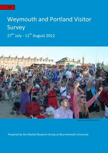 Weymouth and Portland Visitor Survey - Visit Dorset