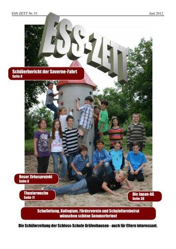 ESSZett Nr. 51 - Schlossschule