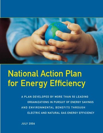 National Action Plan for Energy Efficiency - Modern Equipment