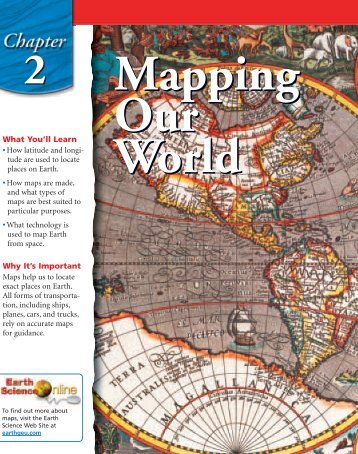Chapter 2: Mapping Our World