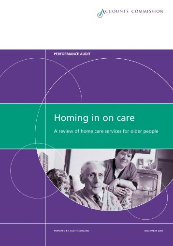 Review of home care services for older people ... - Audit Scotland