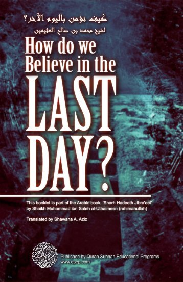 How do we believe in the Last Day? - Kalamullah.Com