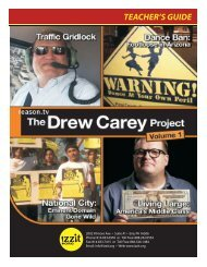 Teacher's Guide for the DVD The Drew Carey Project ... - Izzit.org