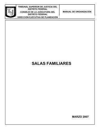 Salas en Materia Familiar - Poder Judicial del Distrito Federal