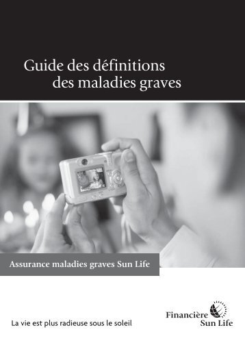 Guide des définitions des maladies graves - Sun Life Financial