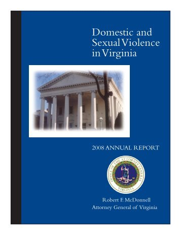 Domestic and Sexual Violence in Virginia - Office of the Attorney ...