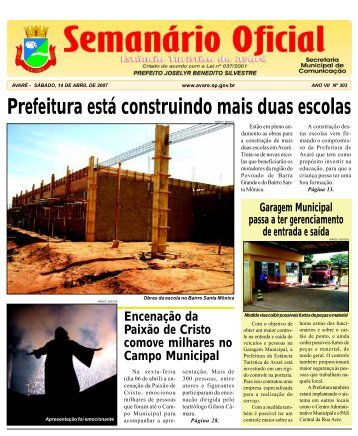 Prefeitura está construindo mais duas escolas - Câmara Municipal ...