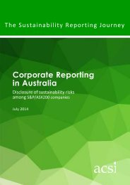 Sustainability Reporting Journey 2014.Jul 14