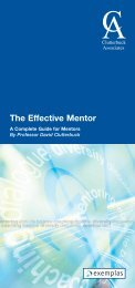 The Effective Mentor - Scottish Mentoring Network