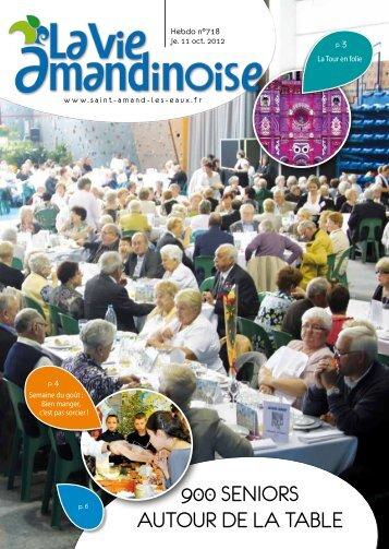 900 seniors autour de la table - Saint Amand les Eaux