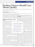 Product Owners Should Care About Quality - Roman Pichler - Page 2