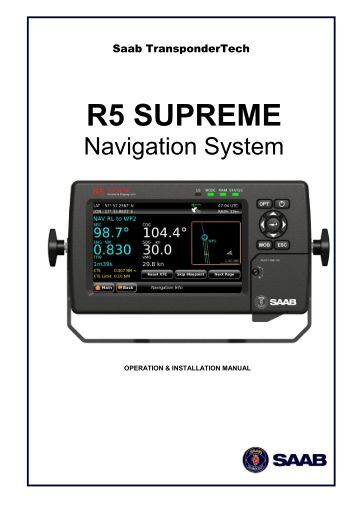 Ais Saab R5 >> R5 NAV Junction Box Installation Guide - Saab