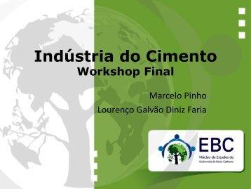Cimento Prof. Dr. Marcelo Pinho (UFSCAR) - Núcleo de Estudos de ...