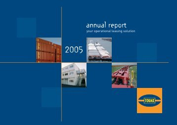 2005 Annual Report - Touax