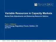 Variable Resources in Capacity Markets - American Clean Skies ...