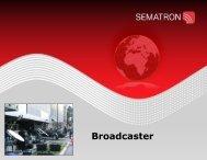 Broadcaster Flipbook - Sematron UK Ltd.