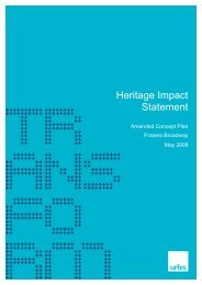 Heritage Impact Statement - Frasers Broadway