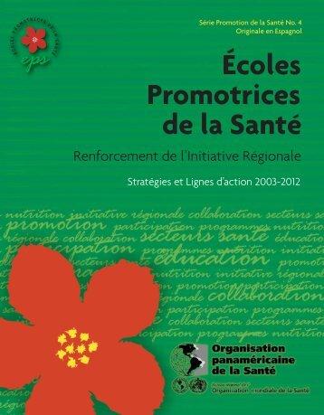 Écoles Promotrices de la Santé - BVSDE - PAHO/WHO