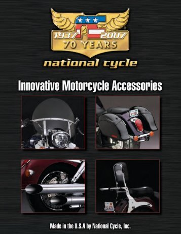 2007 National Cycle Catalogue for Metric Motorcycles - Roffes Motor
