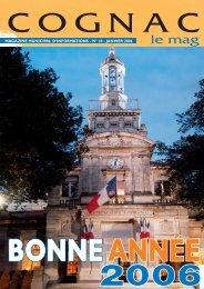 Cognac le mag janv 2006 - Ville de Cognac