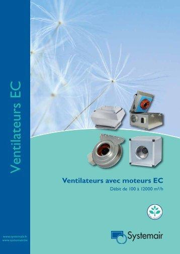 Ventilateurs EC - Systemair