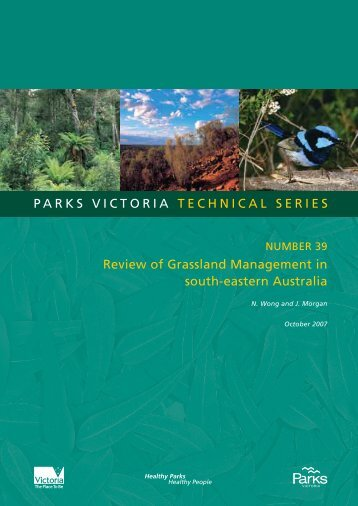 Review of Grassland Management in south-eastern ... - Parks Victoria