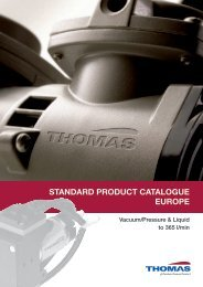 STANDARD PRODUCT CATALOGUE EUROPE - Rtpumps.ch