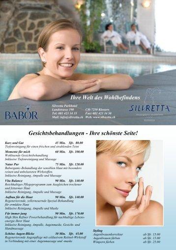 Beautybroschüre - Silvretta Parkhotel