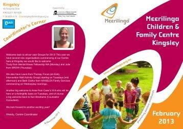 Meerilinga Children & Family Centre Kingsley