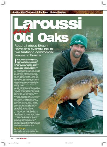laroussi and old oaks - Quest Baits