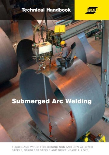 Submerged Arc Welding Technical Handbook - Esab
