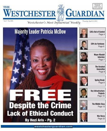 April 21, 2011 - WestchesterGuardian.com