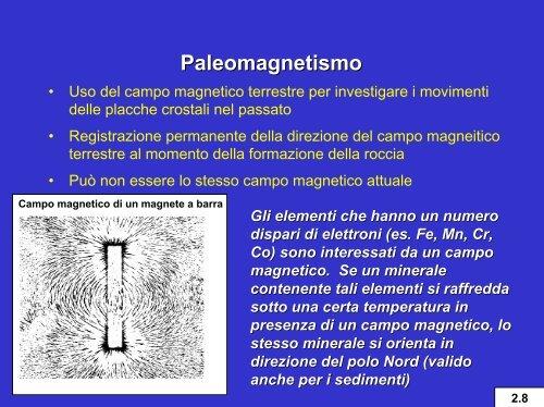 Palaeomagnetismo datazione