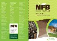 Natural FiberBoard a new natural product brand