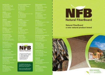 Natural FiberBoard a new natural product brand